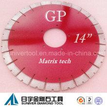 """Gp14 """"* 25mm granito / lâmina de serra de corte de pedra Natural"""