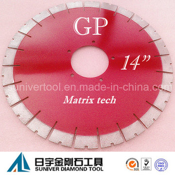 "Gp14""*25mm Granite/ Natural Stone Cutting Saw Blade"