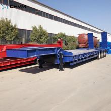 Hydraulic Lowbed Truck Modular Trailer Girder Carrier