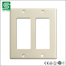 Ivory American Style Plate for Electrical Wall Switch and Socket