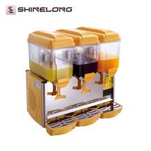 Fournisseur Simple / Double / Triple Distributeur de limonade à 3 compartiments