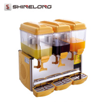 Supplier Single/Double/Triple Head 3 Compartment Lemonade dispenser