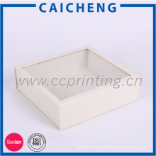 Boîte-cadeau adaptée aux besoins du client de papier avec l'impression polychrome