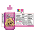 Kundenspezifischer klarer transparenter Vinyl-PET-Aufkleber-Etikettendruck