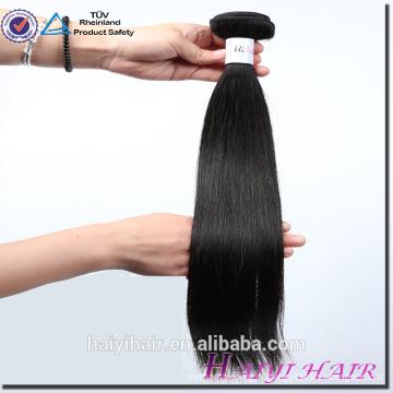 Vente en gros le meilleur paquet de cheveux de vente, armure de cheveux de Vierge, cheveux droits de tissage de cheveux de Vierge non transformés