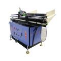 Materialzuführung für Gewinderollmaschine