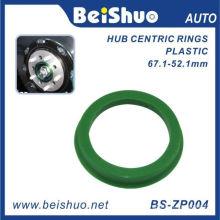 Machining Plastic Hub Centric Ring for Auto