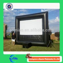Cartelera publicitaria inflable, publicidad al aire libre inflable, pantalla de la película de la TV