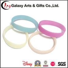 Изменение солнца активированного 202 мм силиконовый браслет /UV силиконовый браслет цвета