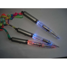 LED UV Light up Ballpoint Pen with Lanyard