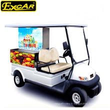 Chariot électrique pour zone touristique