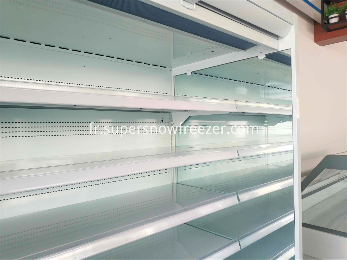 multideck open cooler shelves