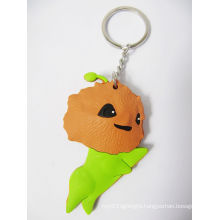 Cute Promotional Keychain with PVC Animal Part (GZHY-KA-073)