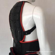 Protection de sécurité de moto Motocross Body Armour Riding Chest Back Protector Guard pour les jeunes enfants