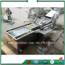 China Lavadora de vegetales, ensalada Línea de procesamiento de vegetales para lechuga