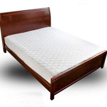 Tampa de colchão impermeável da cama do hotel da edredão do algodão / protetor