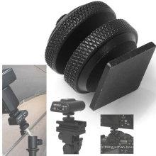 """Vis d'appareil-photo de trépied noir professionnel plaqué par zinc 1/4 """"noir"""