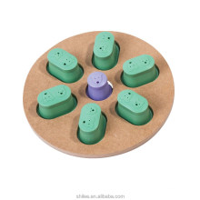 Interactive Fun Wooden Pet Paw Puzzle Toy