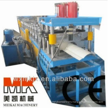 Metal roof ridge cap roll forming machinery/roofing tile cold roll forming machine(hot sale)