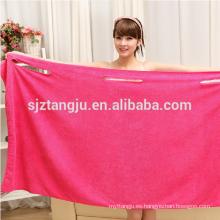 China mujeres de microfibra mayorista vestidos toalla de baño