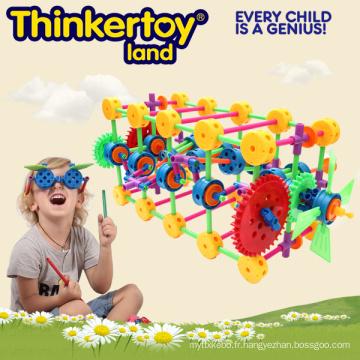 Jouet de construction éducative pour enfants Brains Block Toy