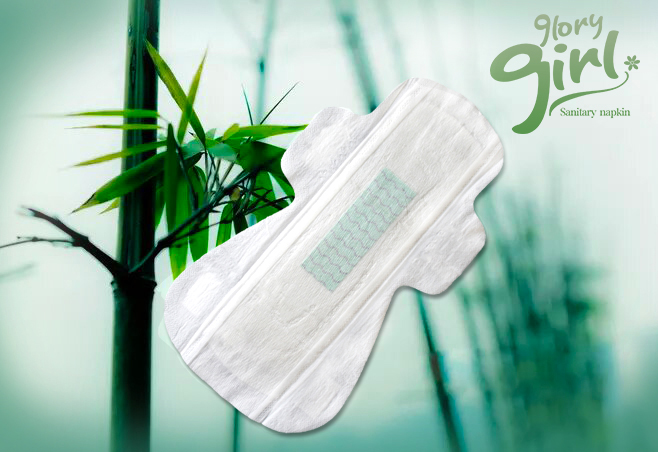 Sanitary Pads With Bamboo Fiber