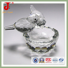 Oiseau de cristal avec bol (JD-CA-109)