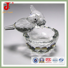 Pássaro de cristal com bacia (JD-CA-109)