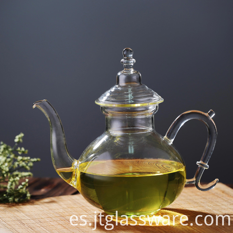 Casablanca Glass Teapot