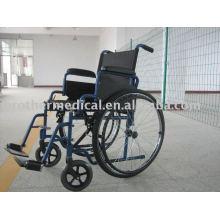 Cadeira de rodas Aço Propulsão Esportes Azul Cor
