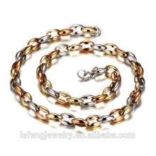 Corrente de aço inoxidável fina Chain do saco da chave da colar da jóia 316L Chain