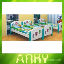 Kindergarten Furniture Children Wooden Bed