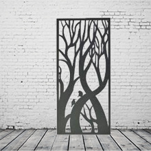 Laser Cut Wall Art Screens