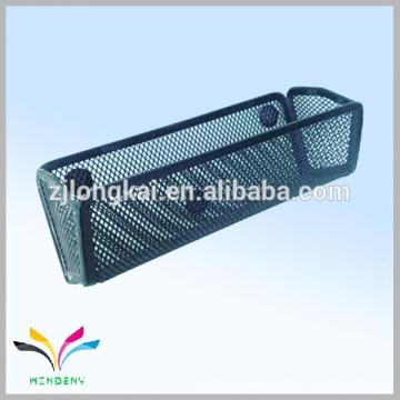 Metal wire mesh cheap fridge magnetic magnet pen holder