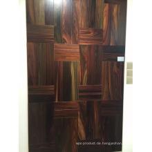 Luxuriöse glatte natürliche Indonesien Palisander Holz Indoor-Bodenbelag