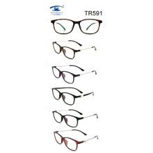 Оптовые оптические очки для моды Tr90 (TR591)