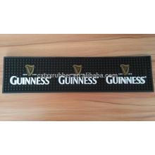 Tapis de plomb pvc, tapis de goutte à goutte de pvc, logo bar rail mats
