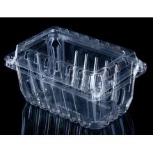 Cajas de fruta fresca de plástico