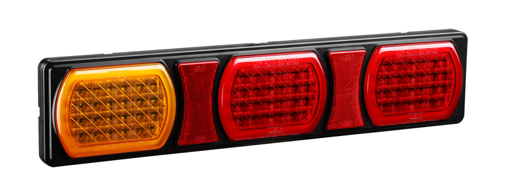 LED Jumbo Truck Combination Tail Lights With ADR