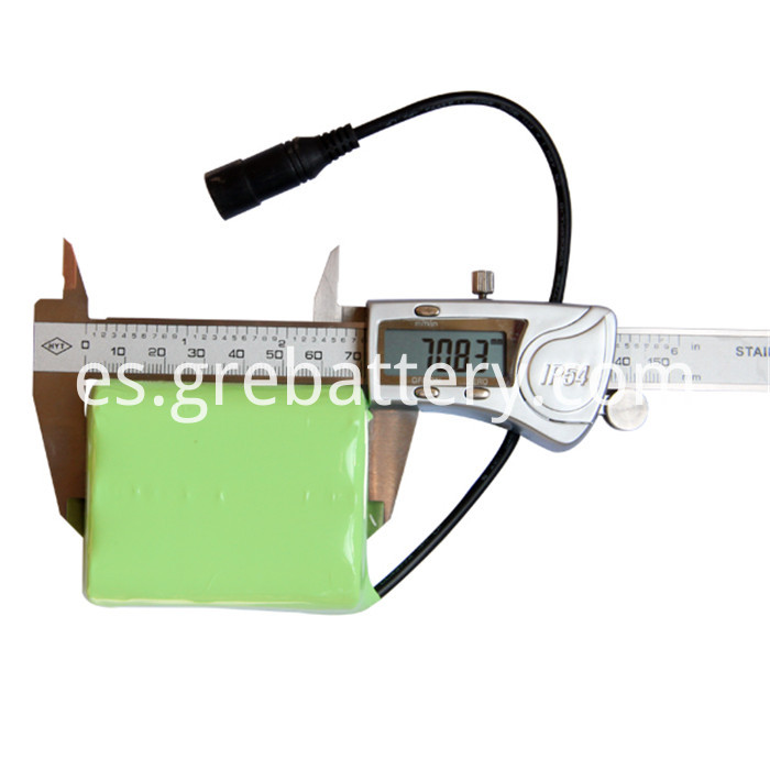small 12V rechargeable battery pack