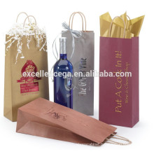 Royal wine bottle paper bag