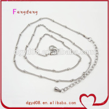 Colorful small Stainless steel chains