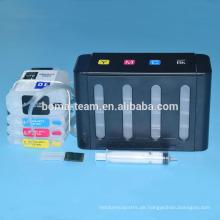 kontinuierliches Farbversorgungssystem ciss 10 11 für Designjet 100 110 1100 1000 Serie für HP 10 ciss