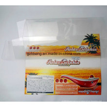 caja impresa transparente de plástico PP / PVC / PET (cajas de embalaje transparente)
