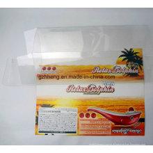 caixa plástica transparente de PP / PVC / PET do plástico (caixas claras da embalagem)