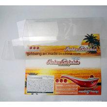 Прозрачная пластмассовая коробка из полипропилена PP / PVC / PET (прозрачные упаковочные коробки)