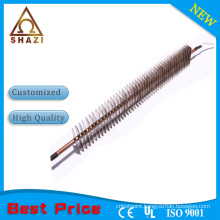 convection air heater heating element with fin