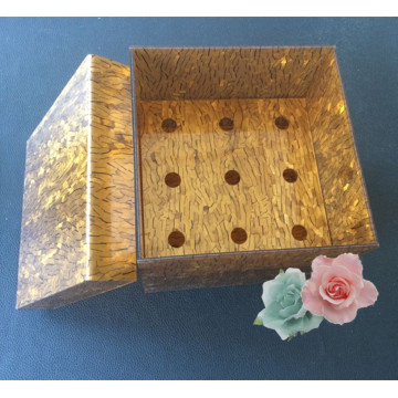 Verschiedene Farbe Customized Acryl Blumenbox Großhandel