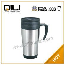 16oz fresh plastic vacuum flask auto cup