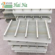 Fácil mantenimiento Torre de enfriamiento Eliminador de derrames Eliminador de niebla de paletas